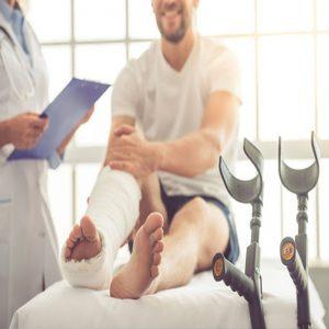 Điều trị vật lý trị liệu say gãy xương chân, tay